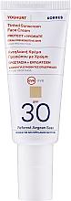 Parfums et Produits cosmétiques Crème teintée solaire à l'huile d'argan pour visage - Korres Yoghurt Tinted Sunscreen Face Cream SPF30