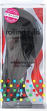 Parfums et Produits cosmétiques Brosse à cheveux démêlante, noir - Rolling Hills Detangling Brush Travel Size Sky Black