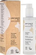 Parfums et Produits cosmétiques Shampooing crème non irritant pour les yeux à l'extrait de buddleia - Pierpaoli Baby Care Cream Shampoo