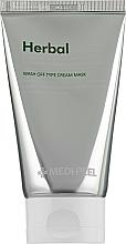 Parfums et Produits cosmétiques Crème-masque exfoliante pour visage - Medi Peel Herbal Peel Tox