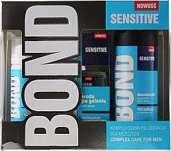 Parfums et Produits cosmétiques Bond Expert Sensitve - Set (déodorant/150ml + après-rasage/100ml + mousse/50ml)
