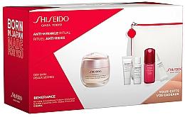Parfums et Produits cosmétiques Coffret cadeau - Shiseido Benefiance (cr/50ml + foam/5ml + lot/7ml + conc/10ml + eye/cr/2ml + bag/1)