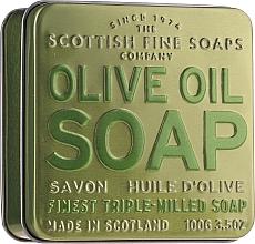 Parfums et Produits cosmétiques Savon à l'huile d'olive en boîte métallique - Scottish Fine Soaps Olive Oil Soap In A Tin