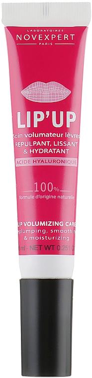 Soin repulpant à l'acide hyaluronique pour lèvres - Novexpert Lip Up Volumizing Care — Photo N1