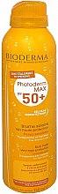 Parfums et Produits cosmétiques Brume solaire sans étalement - Bioderma Photoderm Max Sun Mist SPF 50+