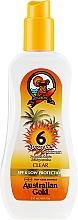 Parfums et Produits cosmétiques Gel solaire en spray pour corps - Australian Gold Body Spray Gel SPF6