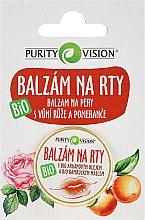 Parfums et Produits cosmétiques Baume à lèvres à l'huile d'argan naturelle - Purity Vision Bio Lip Balm