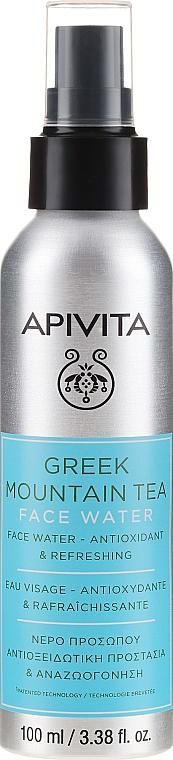 Brume d'eau antioxydante au thé grec des montagnes pour visage - Apivita Greek Mountain Tea Face Water