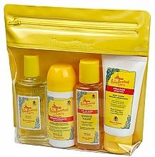 Parfums et Produits cosmétiques Alvarez Gomez Agua De Colonia Concentrada - Coffret cadeau (eau de cologne/80ml + gel douche/90ml + déodorant/75ml + trousse)