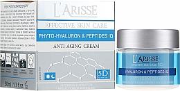 Parfums et Produits cosmétiques Crème de jour et nuit à l'acide hyaluronique et peptides - Ava Laboratorium L'Arisse 5D Anti-Wrinkle Cream Phytohyaluron + Peptides