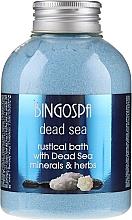 Parfums et Produits cosmétiques Sels de bain aux herbes et minéraux de la mer Morte - BingoSpa Milk Bath With Alpine Herbs And Honey