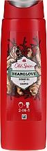 Parfums et Produits cosmétiques Shampooing et gel douche - Old Spice Bearglove Shower Gel + Shampoo
