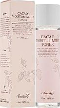 Parfums et Produits cosmétiques Lotion tonique hydratante à l'extrait de cacao - Benton Cacao Moist and Mild Toner