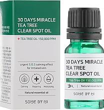 Parfums et Produits cosmétiques Huile pour visage - Some By Mi 30 Days Miracle Tea Tree Clear Spot Oil