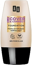 Parfums et Produits cosmétiques Fond de teint couvrant et correcteur - AA 2in1 Cover&Correct Foundation
