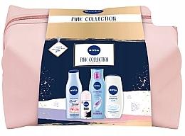 Parfums et Produits cosmétiques Coffret cadeau - Nivea XMax Pink Collection 2020 (b/lot/200ml+shm/250ml+sh/gel/500ml+deo/50ml+bag)
