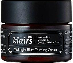 Parfums et Produits cosmétiques Crème à l'extrait de centella asiatica pour visage - Klairs Midnight Blue Calming Cream