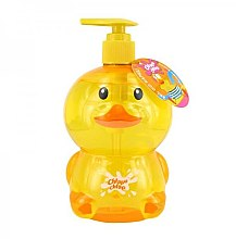 Parfums et Produits cosmétiques Gel douche et bain à l'arôme de mousse aux fruits pour enfants, Canard - Chlapu Chlap Bath & Shower Gel