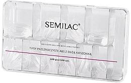 Parfums et Produits cosmétiques Faux ongles - Semilac Tips Box Klar