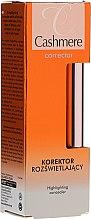 Parfums et Produits cosmétiques Correcteur illuminateur - Dax Cashmere Corrector Highlighting Concealer