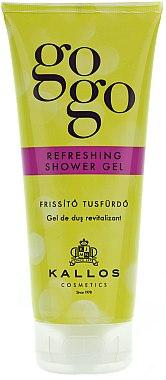 Gel douche rafraîchissant - Kallos Cosmetics Gogo Refreshing Shower Gel — Photo N1