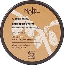 Parfums et Produits cosmétiques Beurre de karité à l'arôme de cacao pour visage, corps et cheveux - Najel