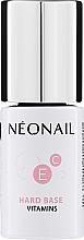Parfums et Produits cosmétiques Base coat vernis semi-permanent aux vitamines - NeoNail Professional Hard Base Vitamins