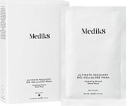 Parfums et Produits cosmétiques Masque bio-cellulose à l'acide hyaluronique pour visage - Medik8 Ultimate Recovery Bio-Cellulose Mask