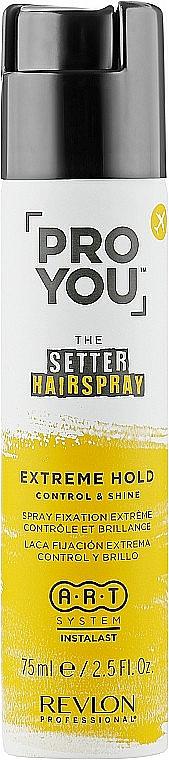 Laque fixation moyenne pour cheveux - Revlon Professional Pro You The Setter Hairspray Medium