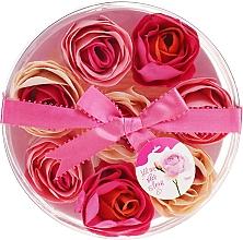 Parfums et Produits cosmétiques Confettis de savon parfumé à la rose, 8pcs - Spa Moments Bath Confetti Rose