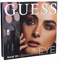 Parfums et Produits cosmétiques Coffret cadeau - Guess Beauty Nude 101 Eye Lookbook (mascara/4ml + eyeliner/0.5g + 12xeye/sh/1.96g)