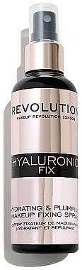 Spray fixateur de maquillage - Makeup Revolution Hyaluronic Fix Spray