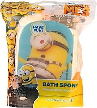 Parfums et Produits cosmétiques Éponge de bain pour enfants, Minions, Stuart-prisonnier, bleu - Suavipiel Minions Bath Sponge