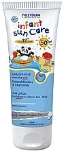 Parfums et Produits cosmétiques Lotion écran solaire à l'extrait de camomille pour enfants SPF 50+ - Frezyderm Infant Sun Care Spf 50+