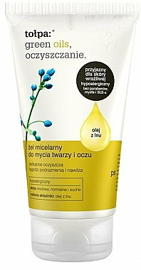 Gel micellaire nettoyant pour visage et yeux - Tolpa Green Oils Micellar Gel
