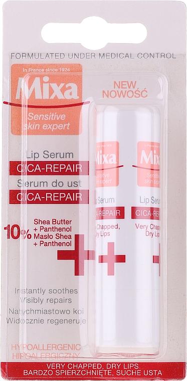 Sérum au beurre de karité pour lèvres - Mixa Cica-Repair Lip Serum