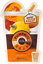 Parfums et Produits cosmétiques Masque tissu à la citrouille pour visage - Mediheal Vita Pumpkin Mask