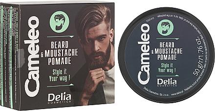 Cire pour barbe et moustache - Delia Cameleo Men Beard and Moustache Pomade