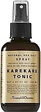 Parfums et Produits cosmétiques Spray-tonique au sel marin pour cheveux - Triumph & Disaster Karekare Tonic Salt Spray