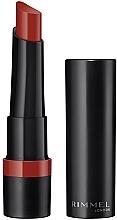 Parfums et Produits cosmétiques Rouge à lèvres mat - Rimmel Lasting Finish Matte