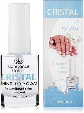 Top coat pour une brillance de cristal - Constance Carroll Cristal Shine Top Coat