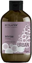 Parfums et Produits cosmétiques Mousse de bain anti-stress, Lavande et Nectarine - Ecolatier Urban Bath Foam