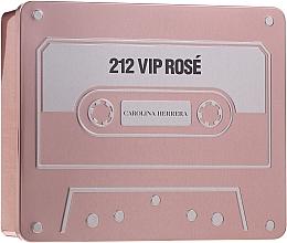 Parfums et Produits cosmétiques Carolina Herrera 212 Vip Rose - Coffret (eau de parfum/50ml + eau de parfum/5ml + lotion corporelle/75ml)