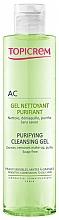 Parfums et Produits cosmétiques Gel nettoyant sans savon pour visage - Topicrem Purifying Cleansing Gel
