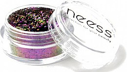 Parfums et Produits cosmétiques Poudre paillettes effet miroir pour ongles - Neess Shiny Effect