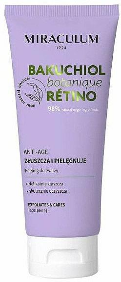 Peeling anti-âge au rétinol pour visage - Miraculum Bakuchiol Botanique Retino