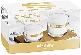 Parfums et Produits cosmétiques Sisley L'Integral Anti-Age Face-Eye Set - (crème visage/50ml + crème lèvres et yeux/15ml)