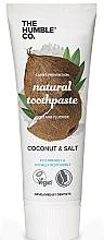 Parfums et Produits cosmétiques Dentifrice naturel, Coco et Sel - The Humble Co. Natural Toothpaste Coconut & Salt