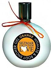 Parfums et Produits cosmétiques Gel de douche et hygiène intime Orange - Sezmar Collection Love Orange Intimate & Body Shower Gel