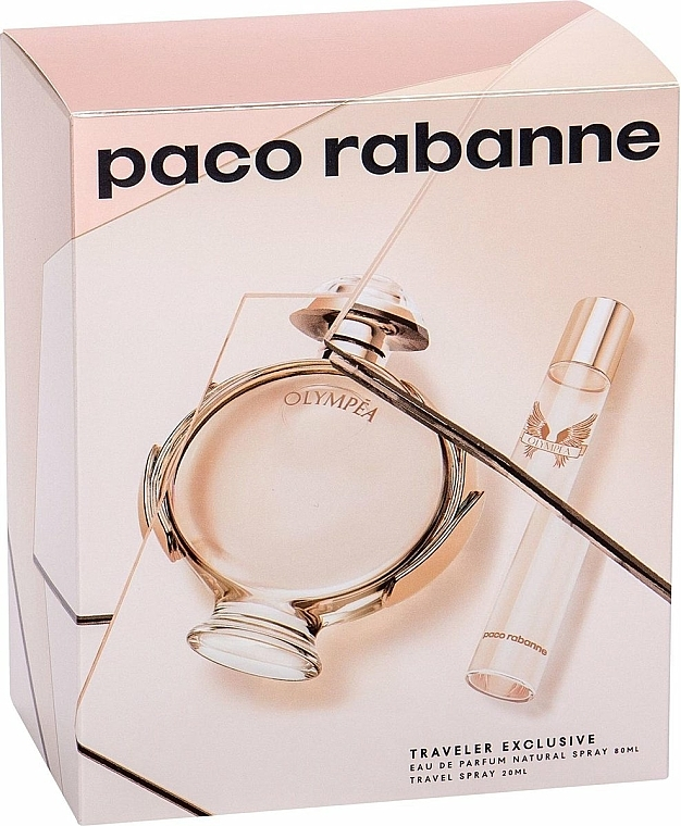 Paco Rabanne Olympea - Coffret (eau de parfum/80ml + eau de parfum/20ml)